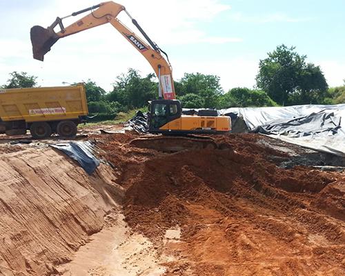 Sany Excavator: May 2016