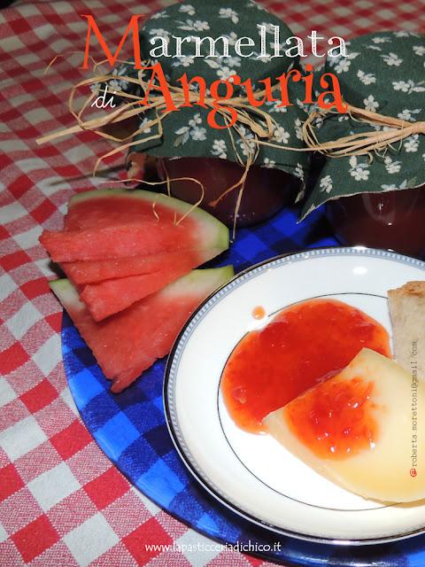 Foto Marmellata di Anguria - www.lapasticceriadichico.it