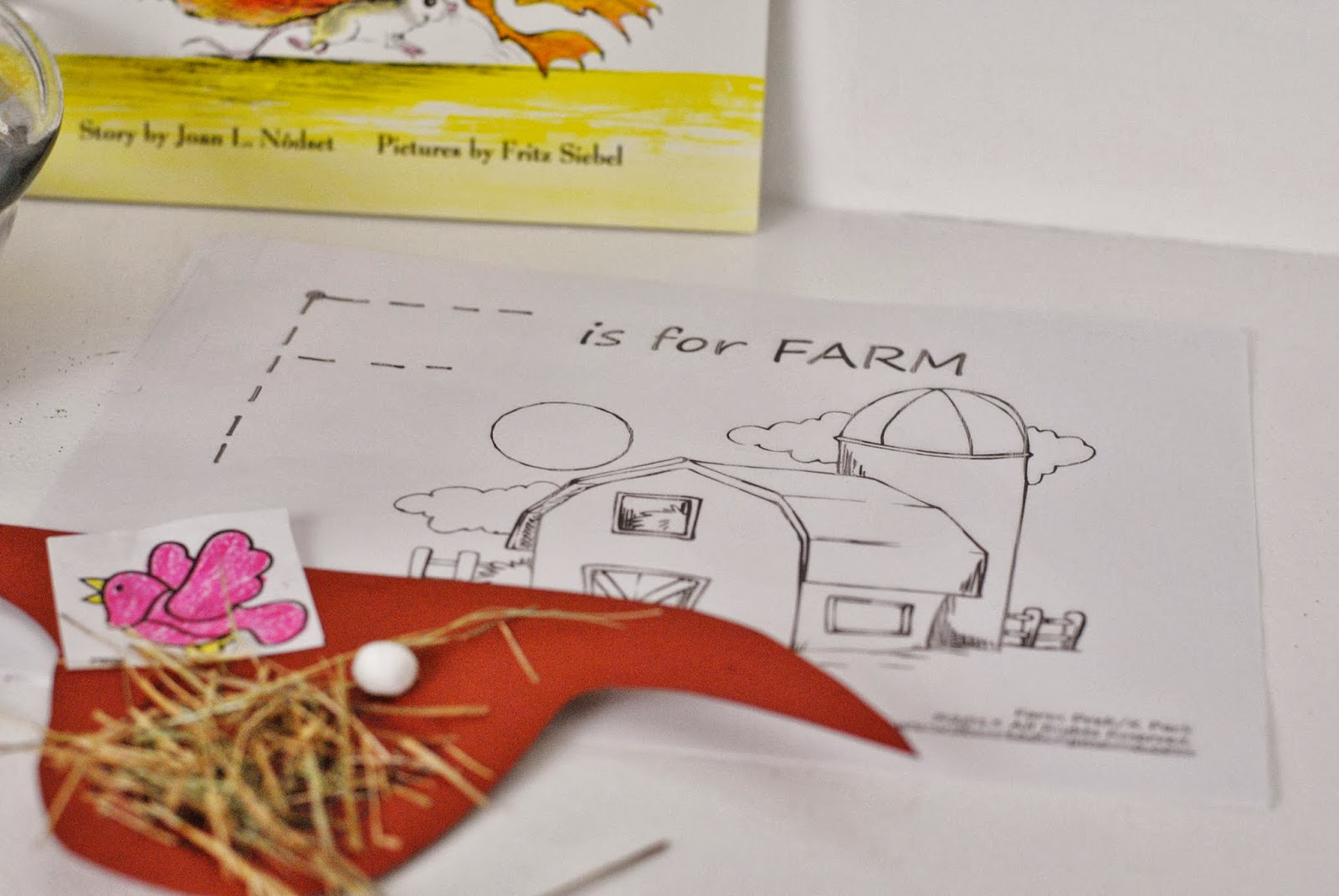 Life With 4 Boys Pre K Farm Themed Lesson Plan