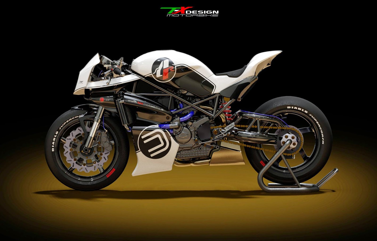 Racing Caf U00e8  Ducati S4r Tex Evolution 2015