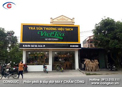 Quán trà sữa VietTea An Lão Hải Phòng