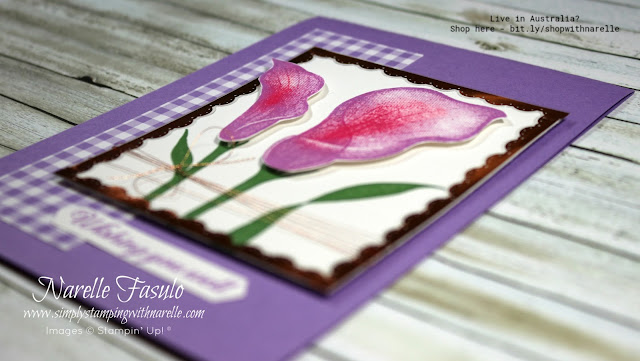 Whats better than a pretty stamp. A pretty stamp thats free. This Lasting Lily - available free until 31st March, 2109. Get this stamp set free with a $90 order. See what else you can get for free here - http://bit.ly/SaleABrationFREE