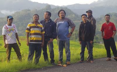 sawah di manggarai flores Indonesia