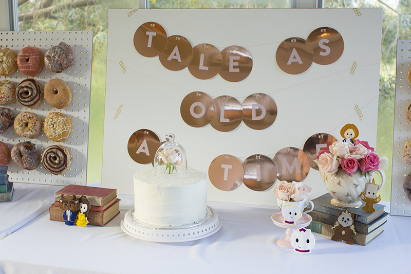 Beauty and the Beast Themed Toddler Birthday Party