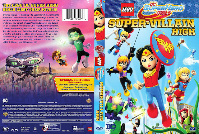 LEGO DC Super Hero Girls: Super-Villain High DVD Cover