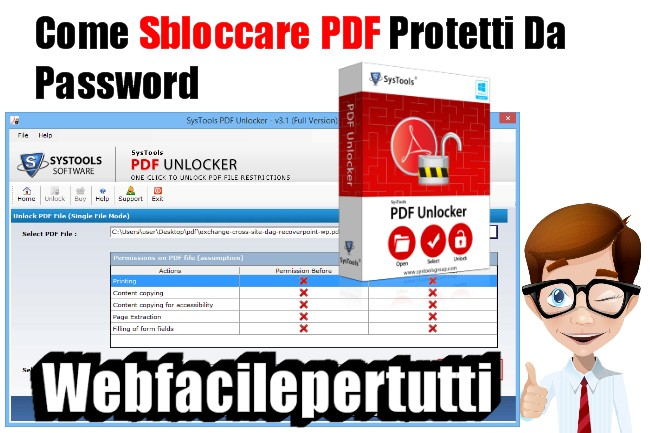 Come Sbloccare PDF Protetti Da Password