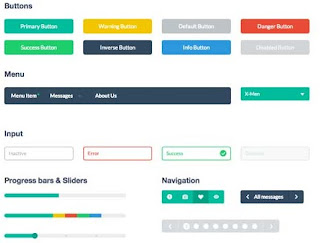 free ui kit web design centerklik