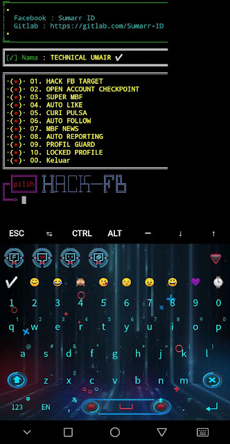 Termux New Commands For Facebook new Tricks Hacking