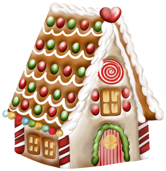 free gingerbread house clipart - photo #14