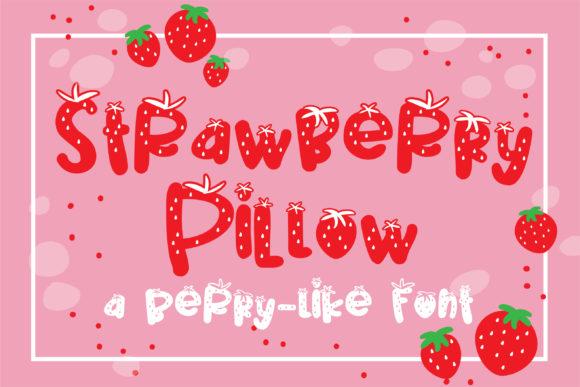 Strawberry Pillow Font