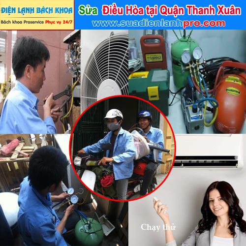 Sửa điều hòa tại nhà ở quận Thanh Xuân
