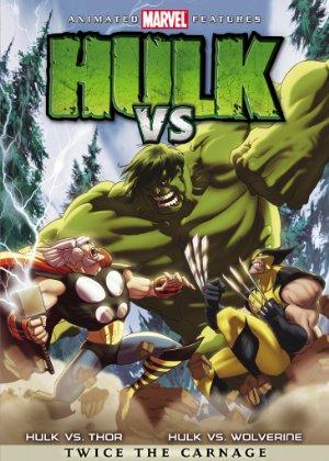 Poster Hulk Vs Thor 2009