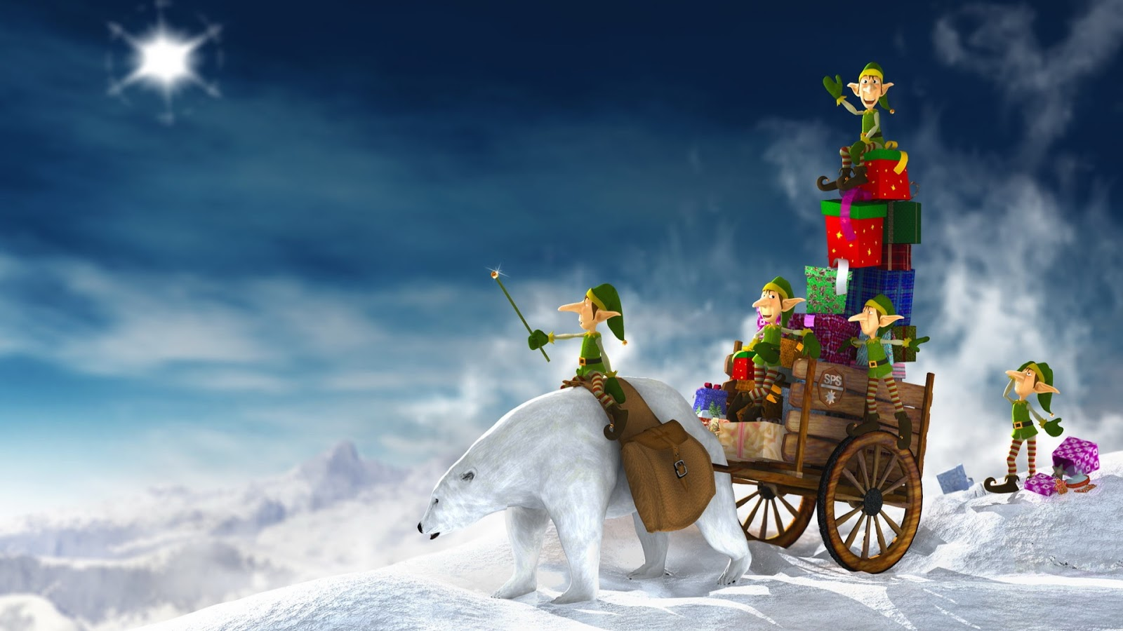 Christmas Wallpapers Hd 1080p: Christmas Full HD Wallpapers 1080p
