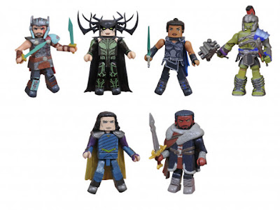 Toys R Us Exclusive Thor: Ragnarok Marvel Minimates 2 Packs by Diamond Select Toys