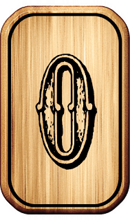 Abecedario Vaquero en Madera. Wooden Cowboy Alphabet.