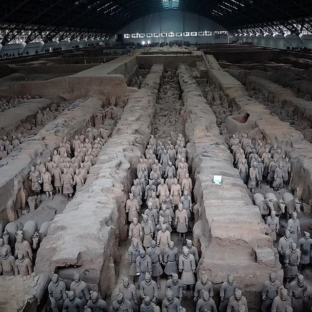 terracotta warriors xi'an china