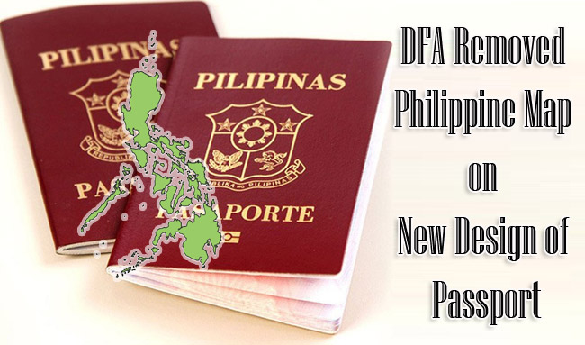 DFA Removed Philippine Map on New Design of Passport