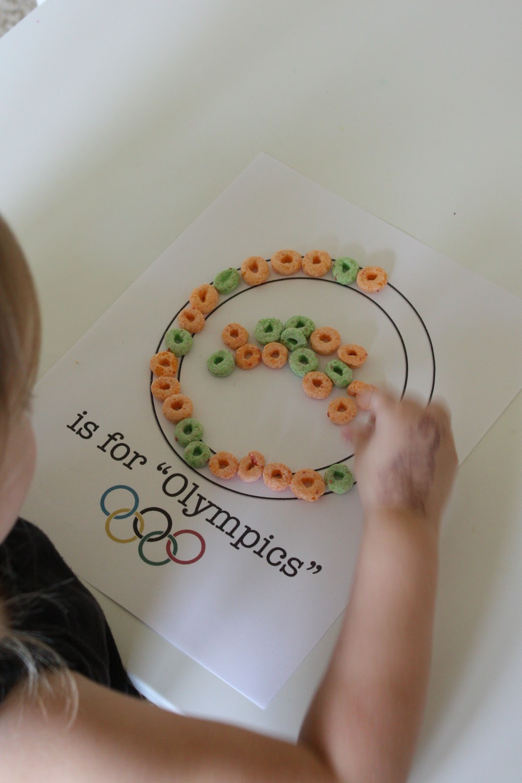 My Spare Time Rrsp Letter O Amp Olympic Theme Unit