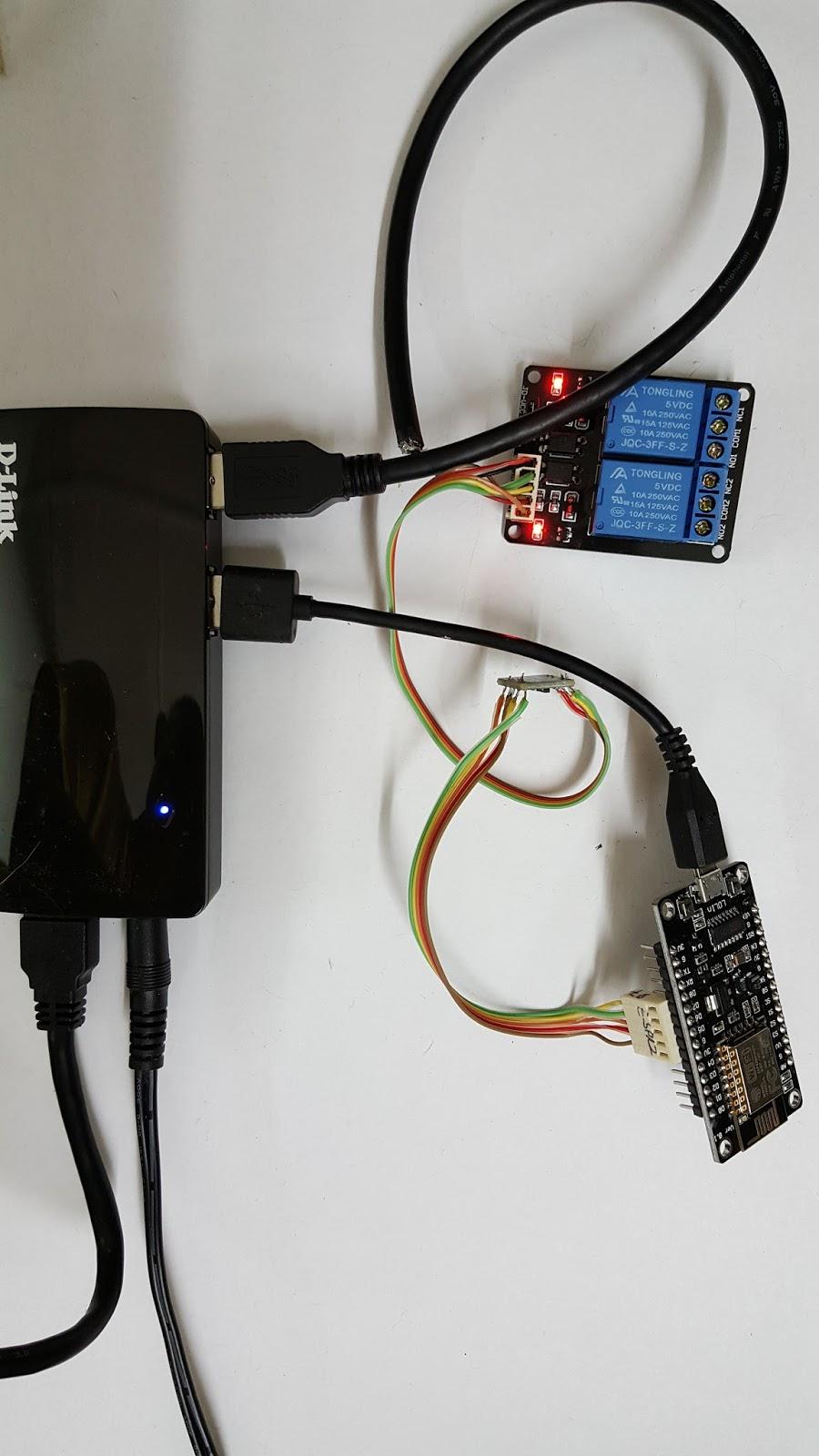 Cmheongs Blog Iot Relay Switch Using The Esp8266 Nodemcu Esp 12e Arduino Lua V3 And Ide