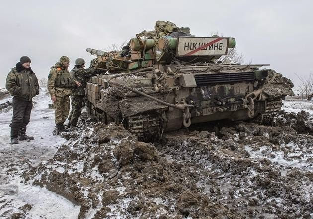 Fierce fighting continues in Uglegorsk and Debaltseve foothold