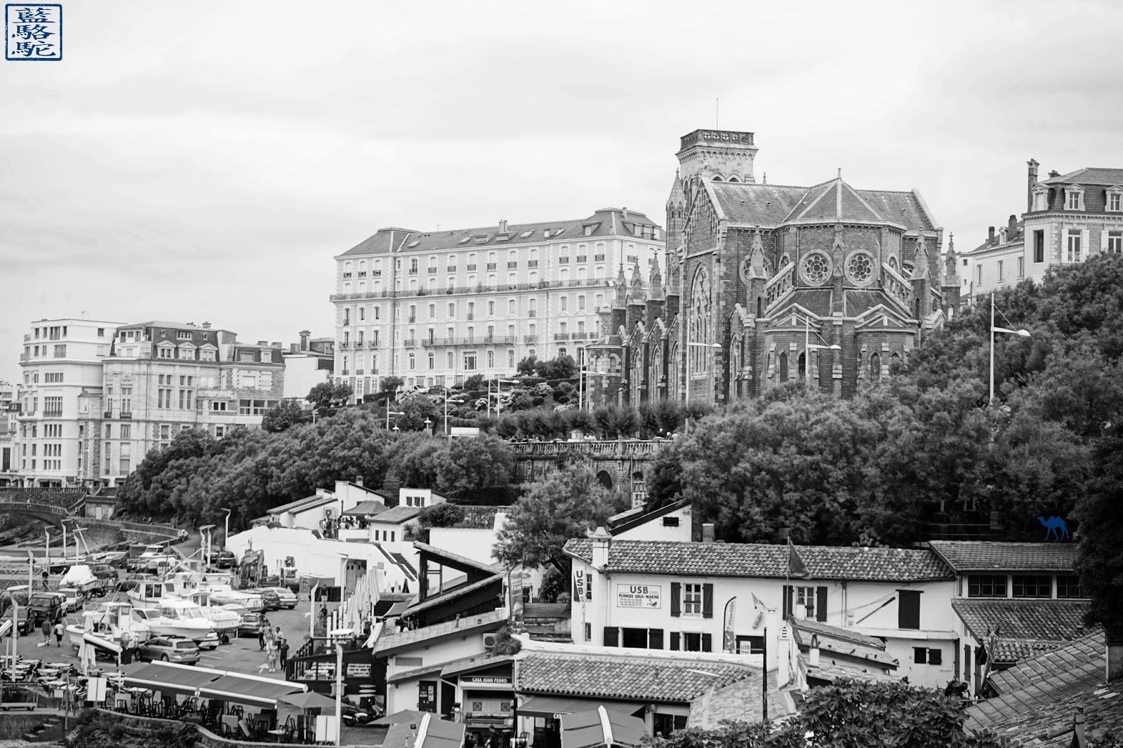 Le Chameau Bleu - Biarritz - église Sainte Eugénie - BAB