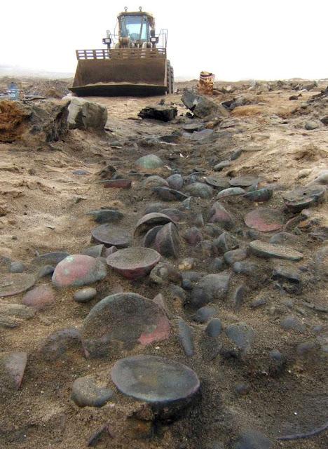 In Namibia, 1533 Portuguese shipwreck's relics hidden away