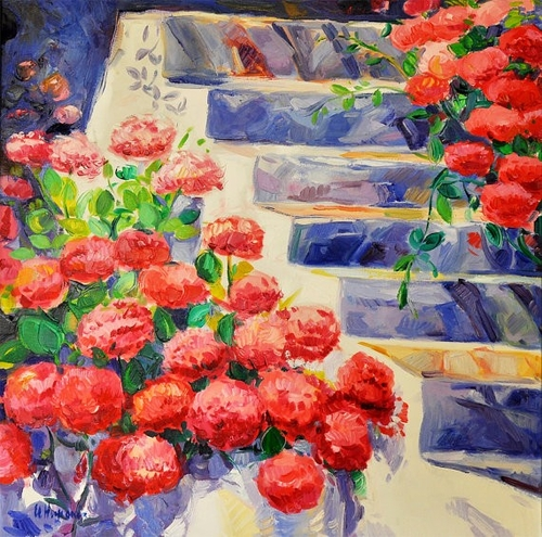 10-Ivailo Nikolovhas-Bright-Paintings-Modern-Impressionism-www-designstack-co