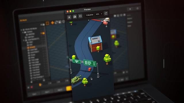Buildbox صانع ألعاب بسهولة بدون برمجة