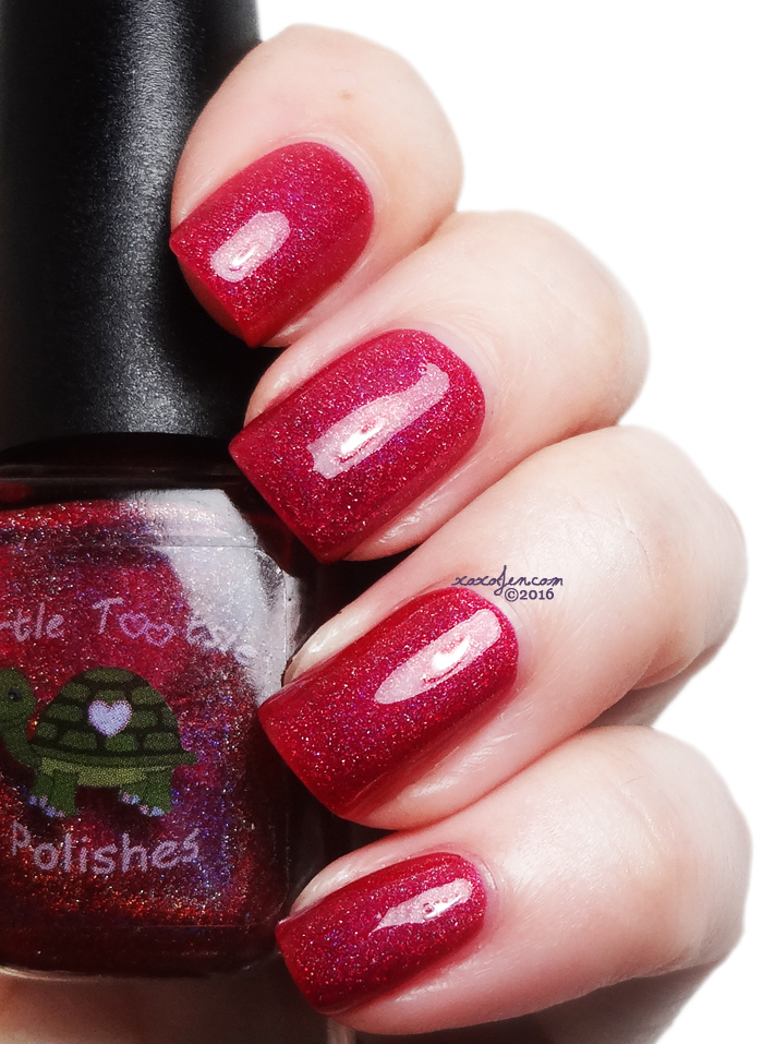 xoxoJen's swatch of Turtle Tootsie Passionate Kisses