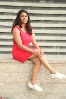 Shravya Reddy in Short Tight Red Dress Spicy Pics ~  Exclusive Pics 058.JPG