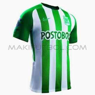 camiseta atlético nacional 2018 2019 927f38fdea163