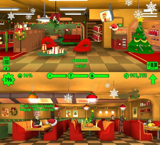 Fallout Shelter Christmas