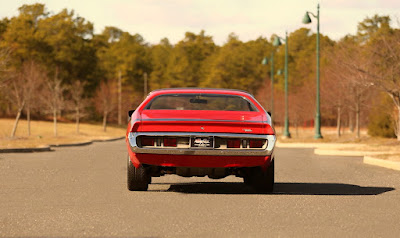 1971 Dodge Charger Sport Coupe Rear