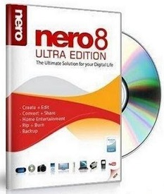 Nero 8 Full Serial Key โปรแกรมเขียนแผ่นดาวน์โหลดฟรี