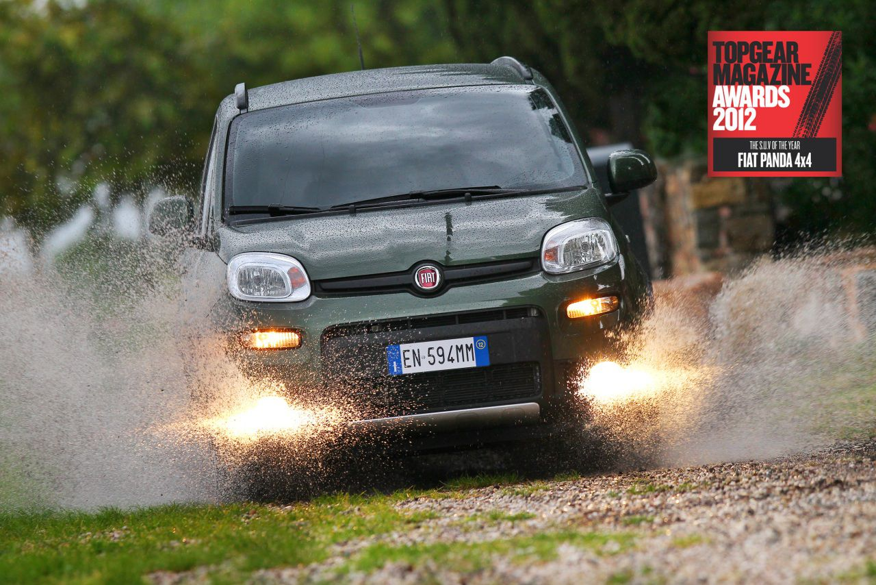 Top Gear SUV of the Year 2012 - Fiat Panda 4x4
