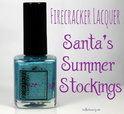 Firecracker Lacquer Santa's Summer Stockings