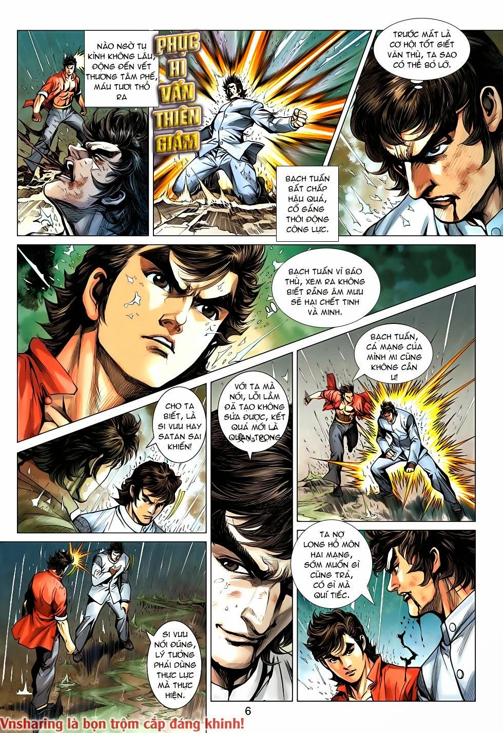 Tân Tác Long Hổ Môn Chap 606 page 6 - Truyentranhaz.net