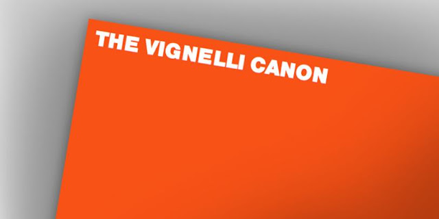 The Vignelli Canon by Massimo Vignelli