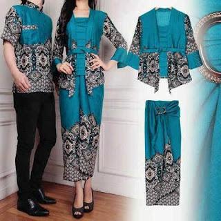 baju kebaya batik muslim wanita