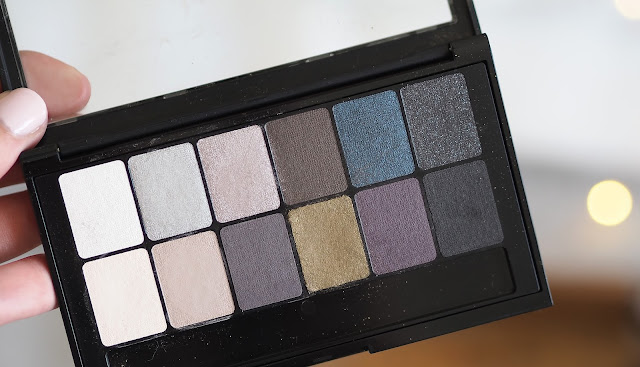A picture of Maybellines new Rock The Drama Eyeshadow Palette
