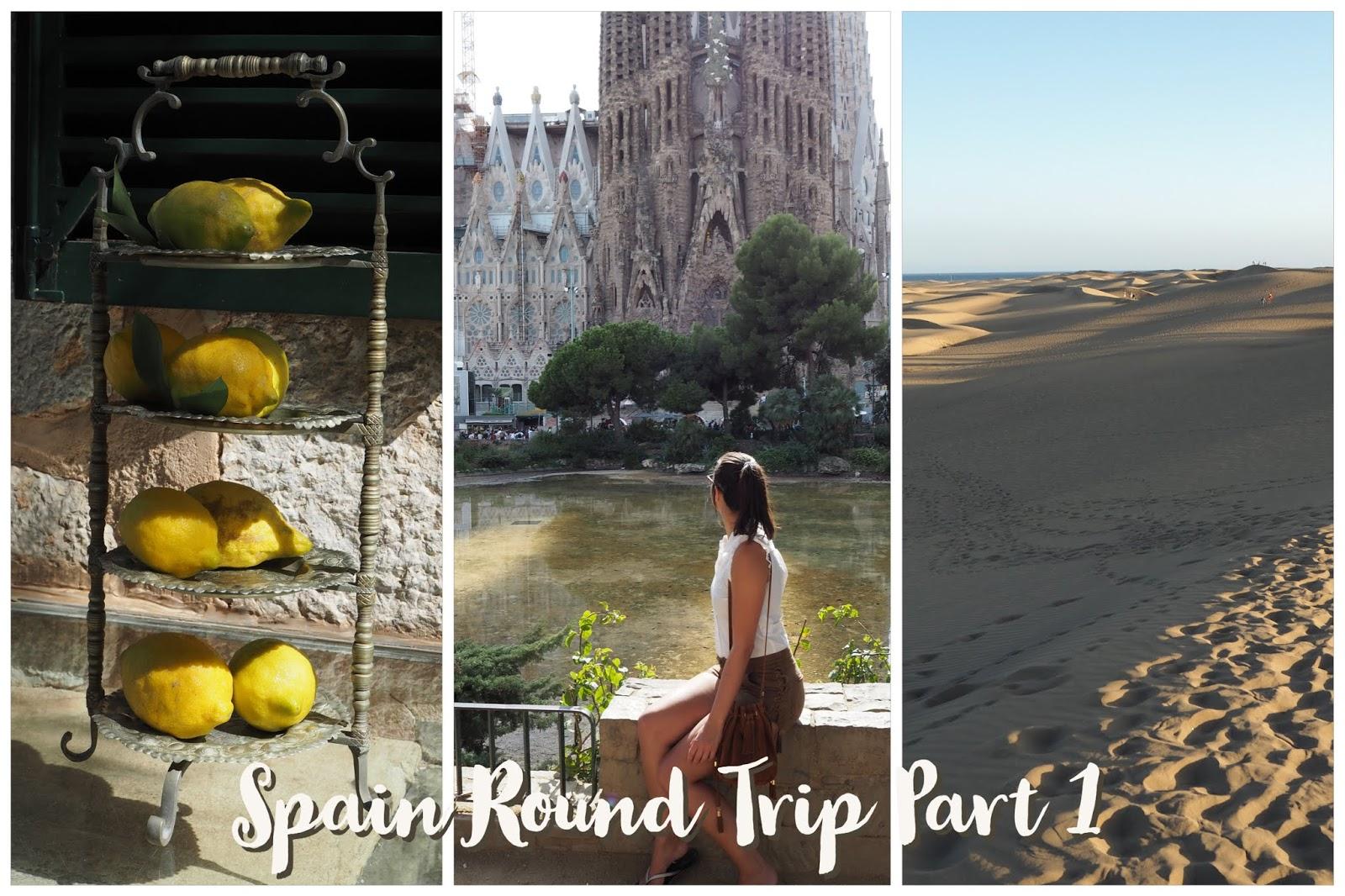 Spain Round Trip Summer Holidays
