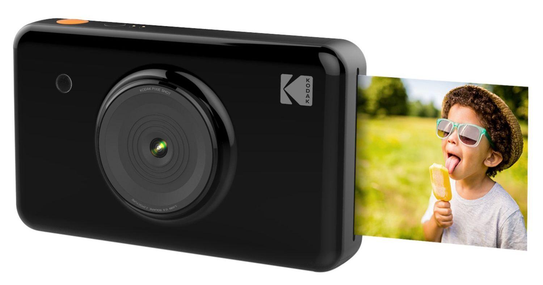 Kodak Mini Shot черного цвета, вид спереди