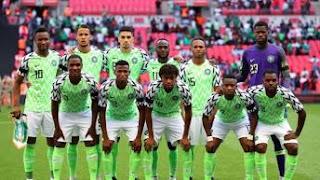 Nigerian Football Team 2018