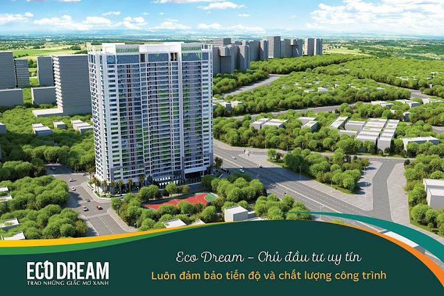 Phối cảnh tổng thể dự án Eco Dream