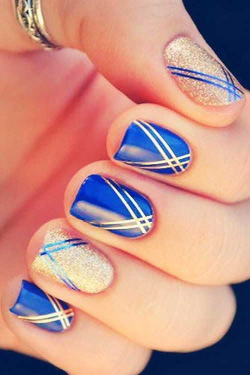 Modern Nails Posts: Modern Nails Decorated Easy And Nice