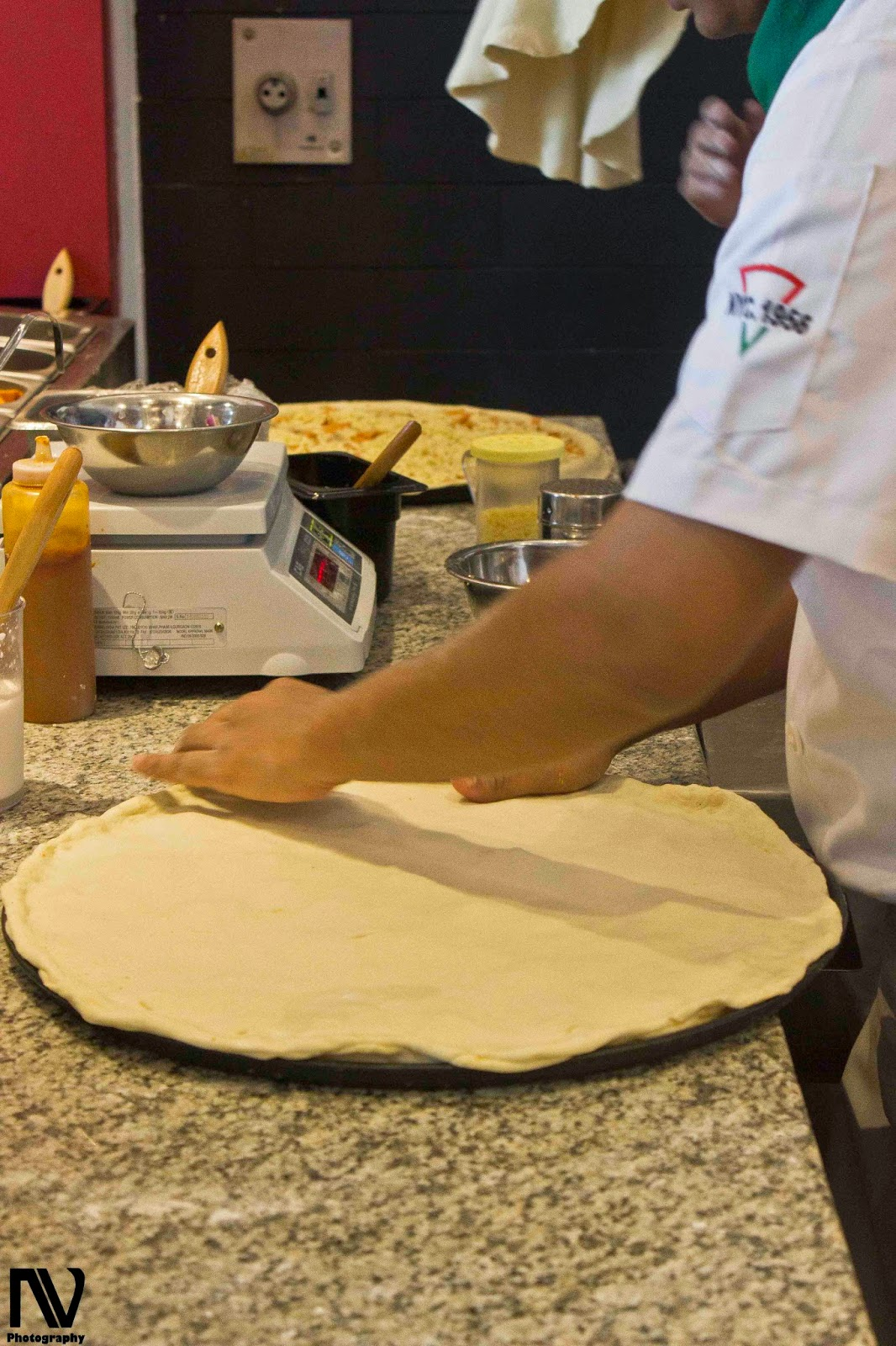Sbarro's Hand Stretched Pizza Dough