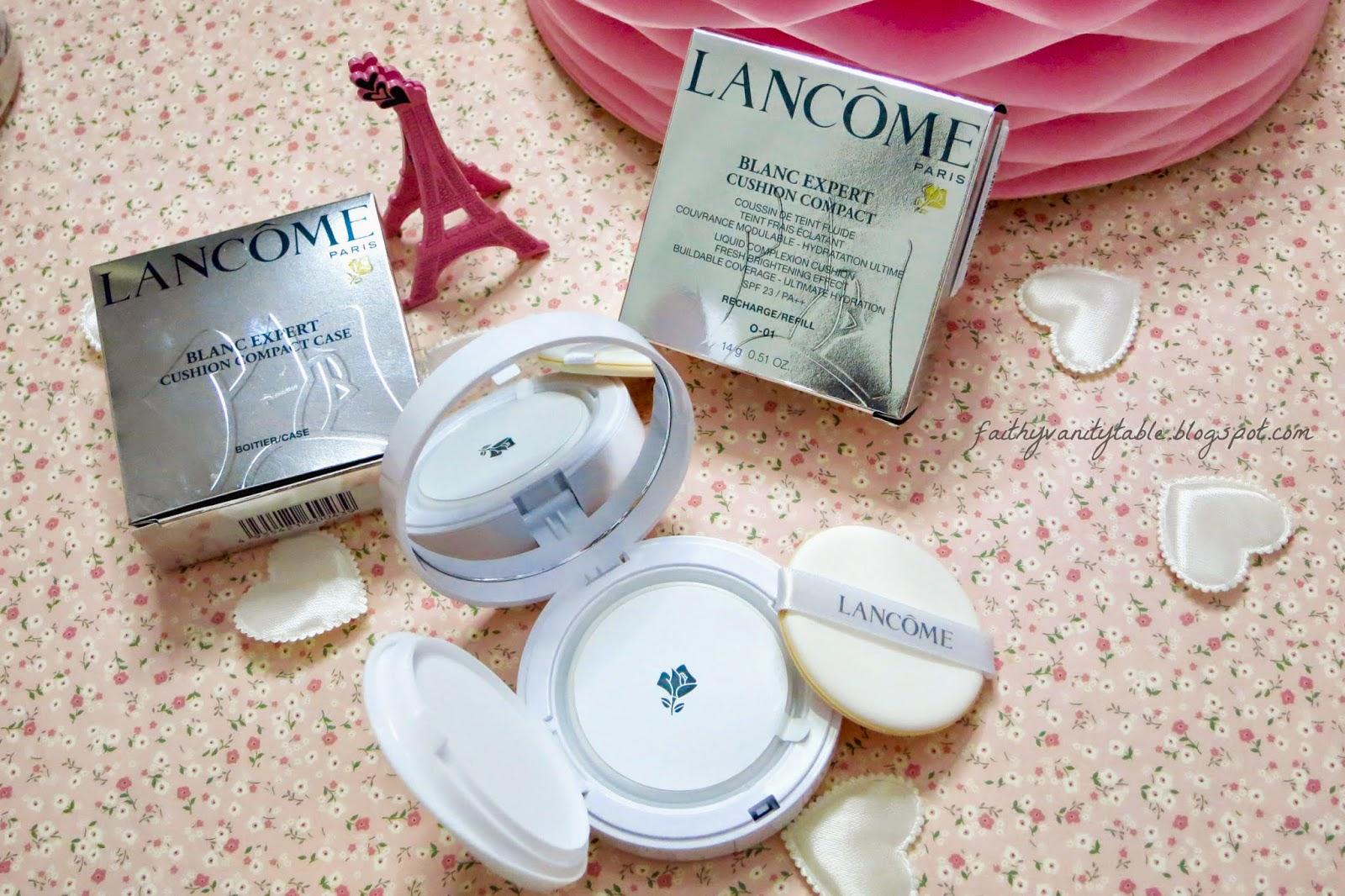 Review of Lancome Blanc Expert Cushion UV