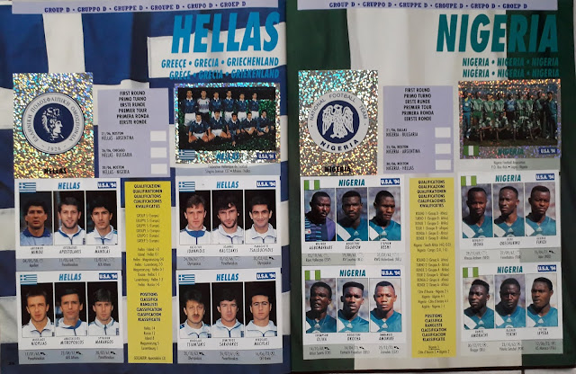 USA '94 WORLD SOCCER CHAMPIONSHIP GROUP D HELLAS AND NIGERIA
