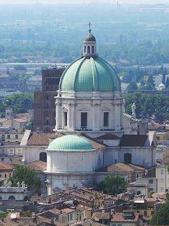 The dome of Brescia's Duomo Nuovo
