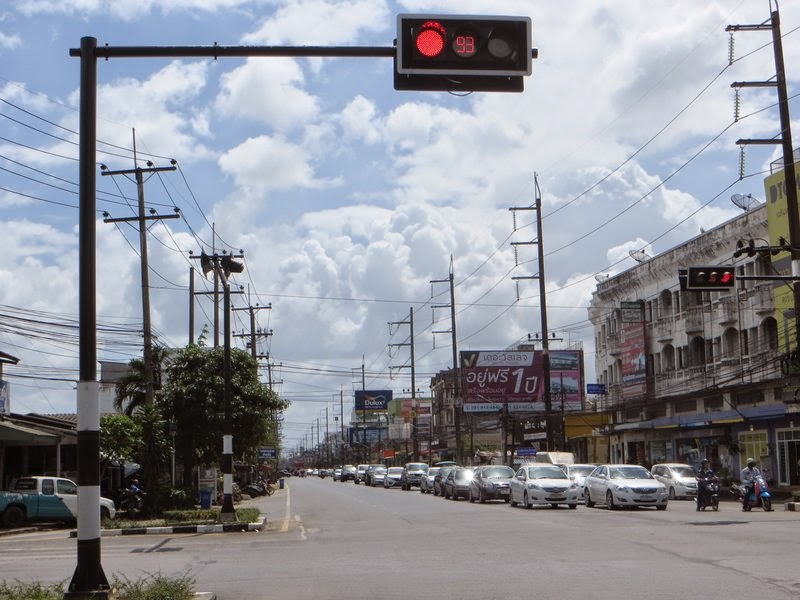 Красный свет светофора